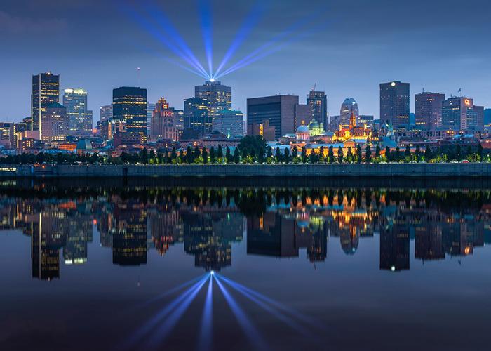 Downtown Montreal en Canada