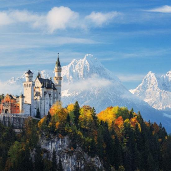 El Castillo Neu Schwanstein Alemania