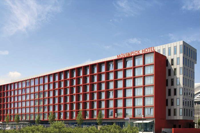 Hotel Mövenpick Frankfurt City Alemania Fachada