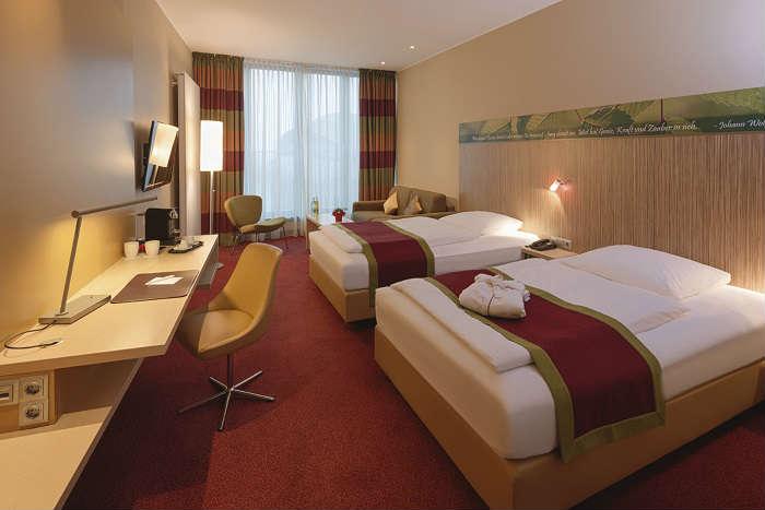 Hotel Mövenpick Frankfurt City Alemania Habitacion Familiar