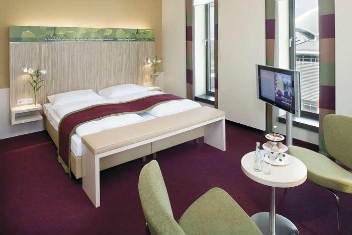 Hotel Mövenpick Frankfurt City Alemania Habitacion Superior