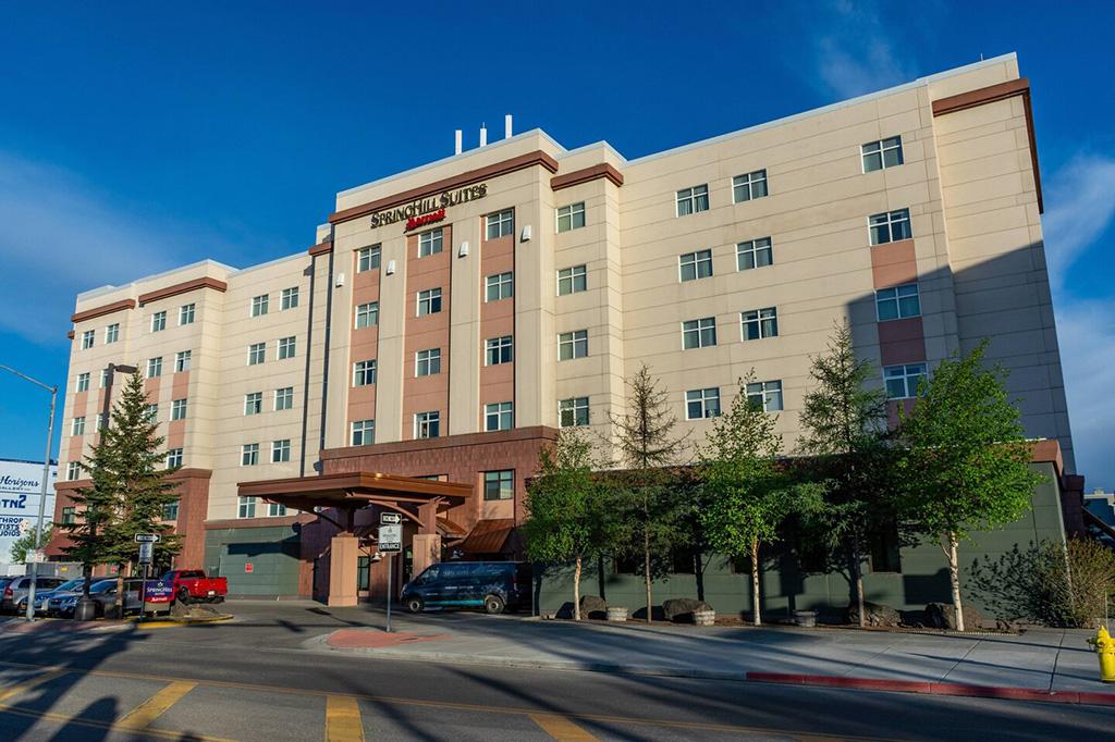 Hotel SpringHill Suites Fairbanks Alaska Entrada