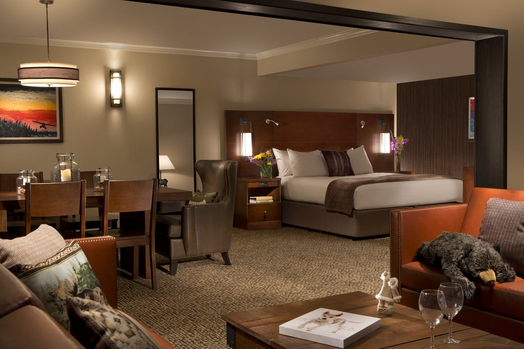 Hotel The Lakefront Anchorage Canada Hab suite