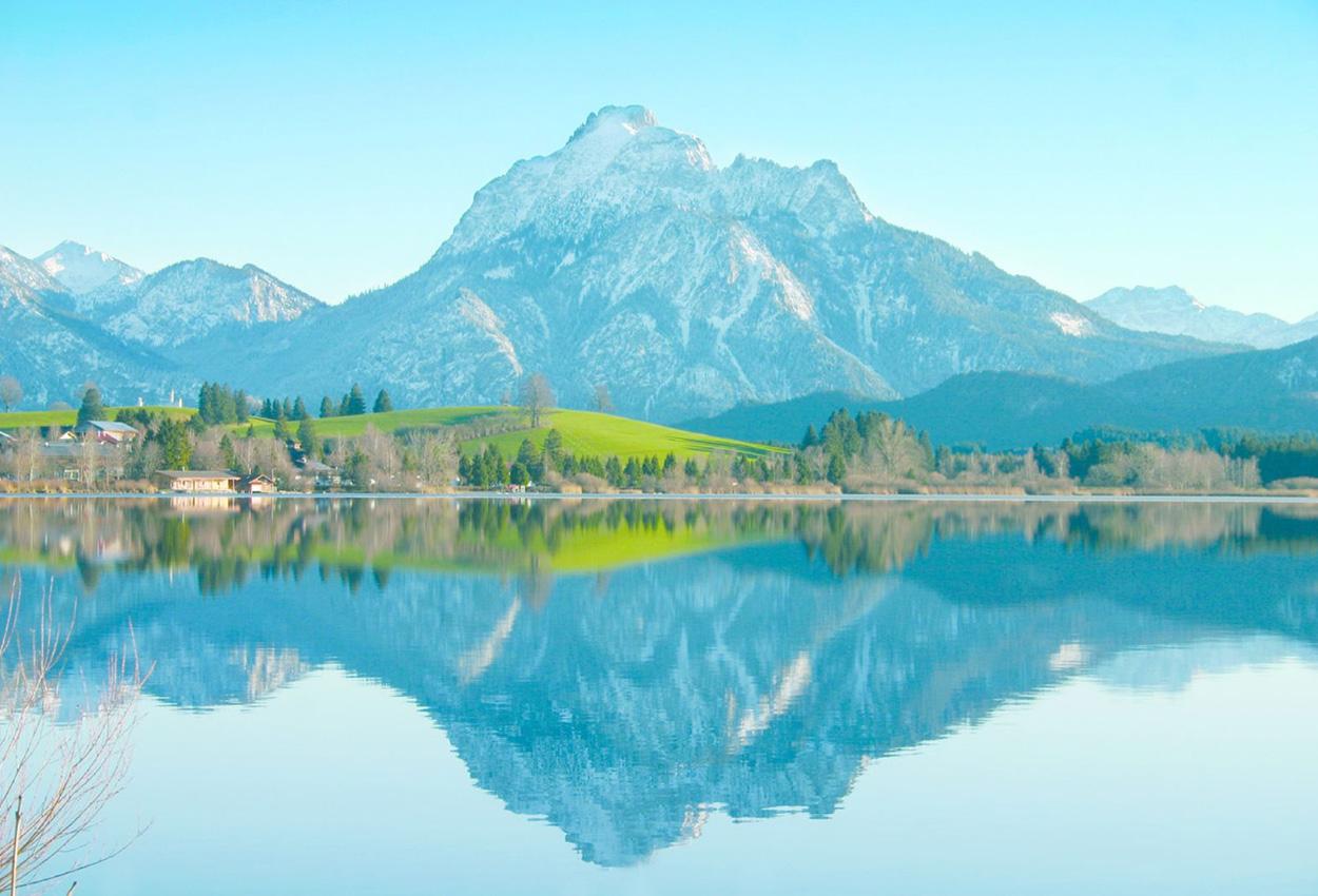 Lago Säuling Alemania