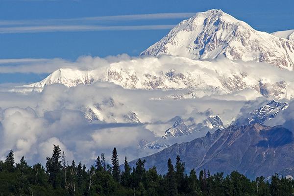 Monte McKinley en Alaska ASIVIAJO