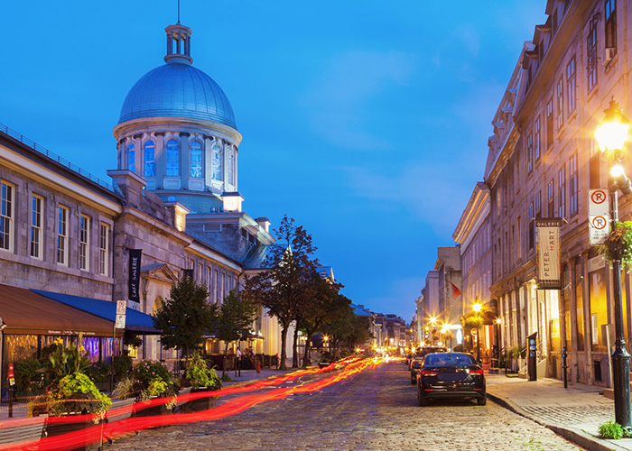 Montreal Old Port Bonsecours Market Montreal Canada