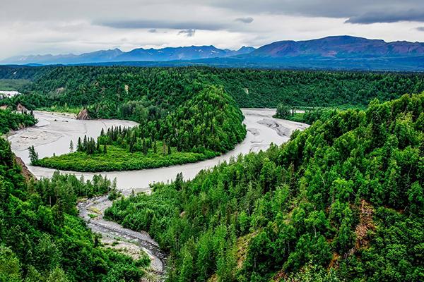 Parque nacional Denali Alaska ASIVIAJO