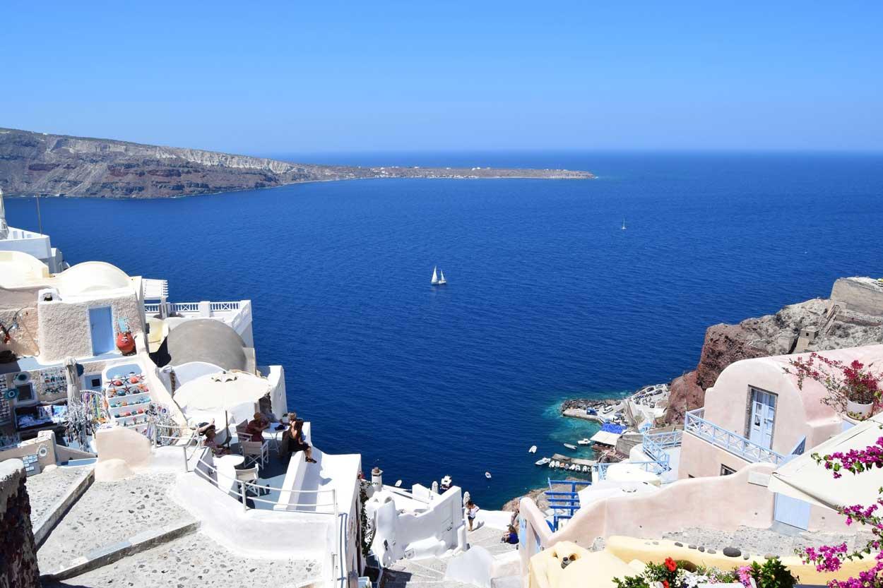 Atardecer en Santorini Grecia