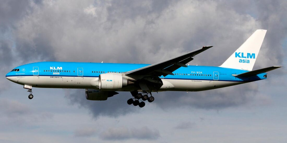 Boeing 777 KLM Asia