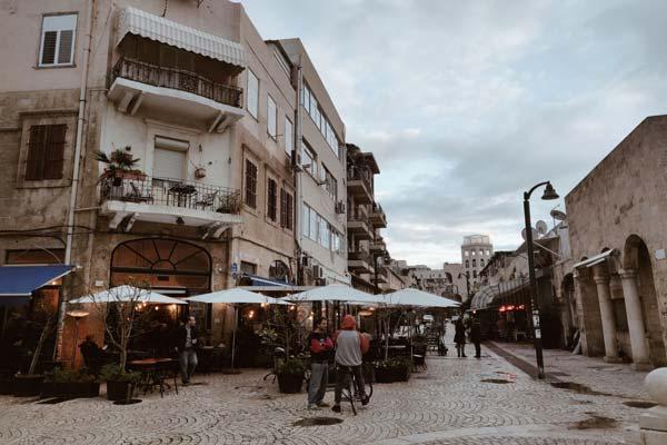 Calles de Tel Aviv Israel Asiviajo
