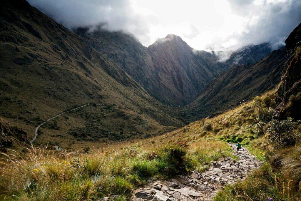 Camino del Inca entre Los Andes