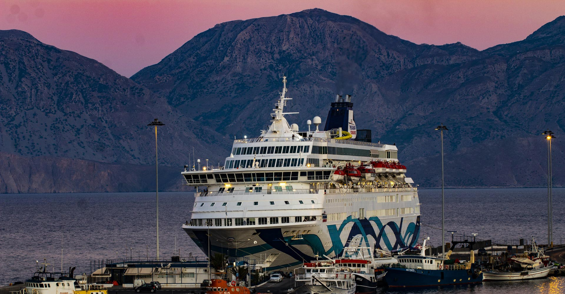 Crucero por Atenas Grecia