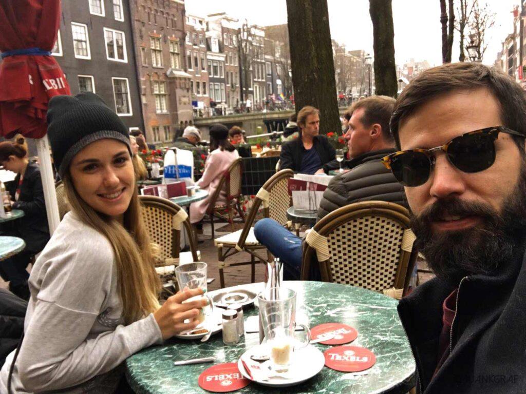 Desayuno en Amsterdam