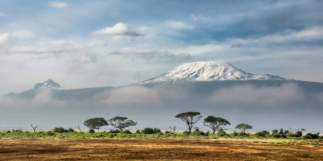 Kilimanjaro visto desde Amboseli