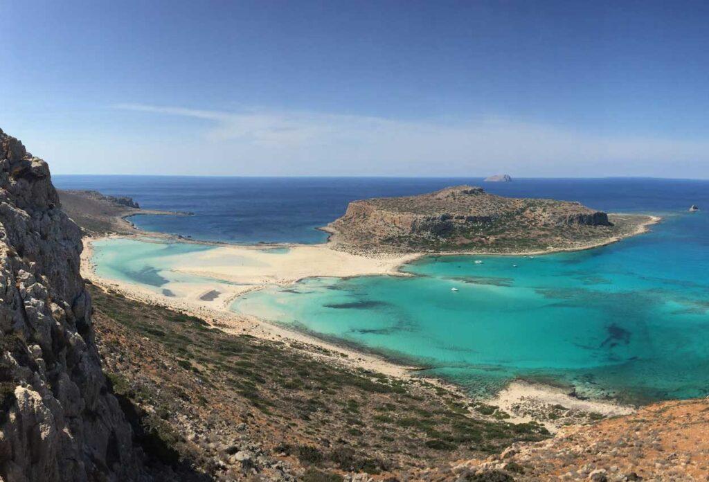 La playa mas asombrosa de Grecia Creta