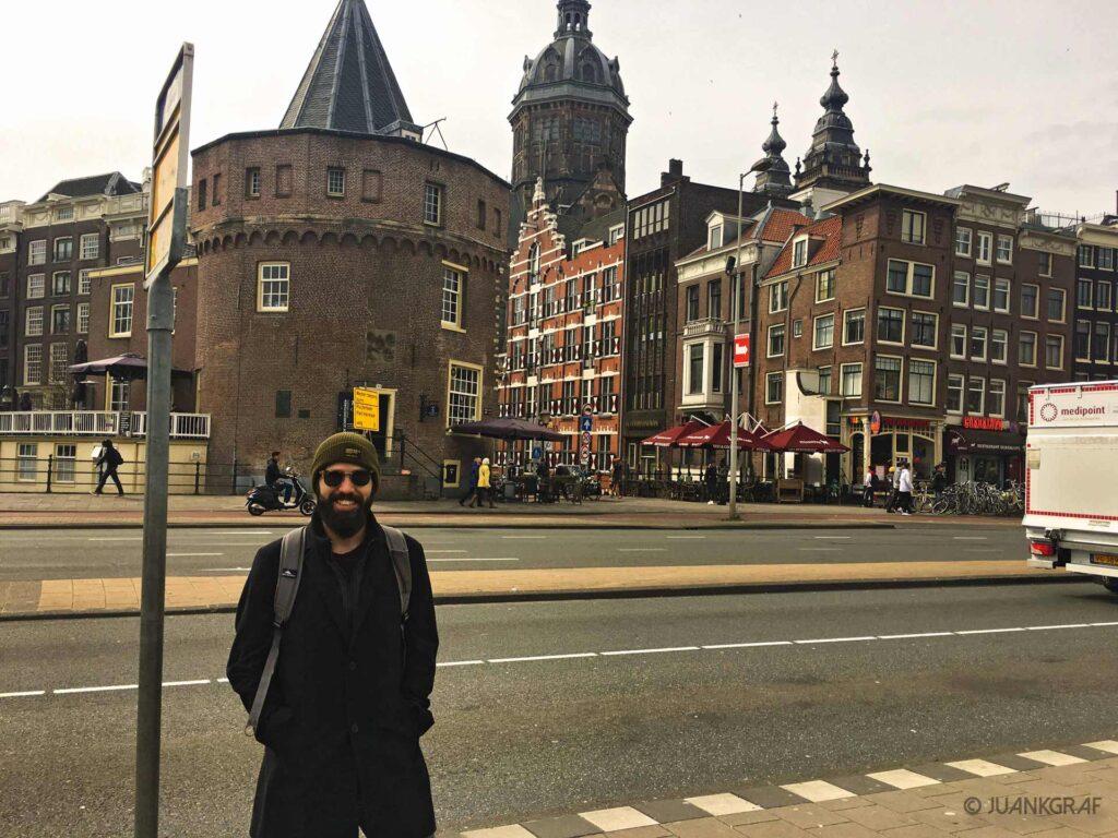 Llegada a Amsterdam