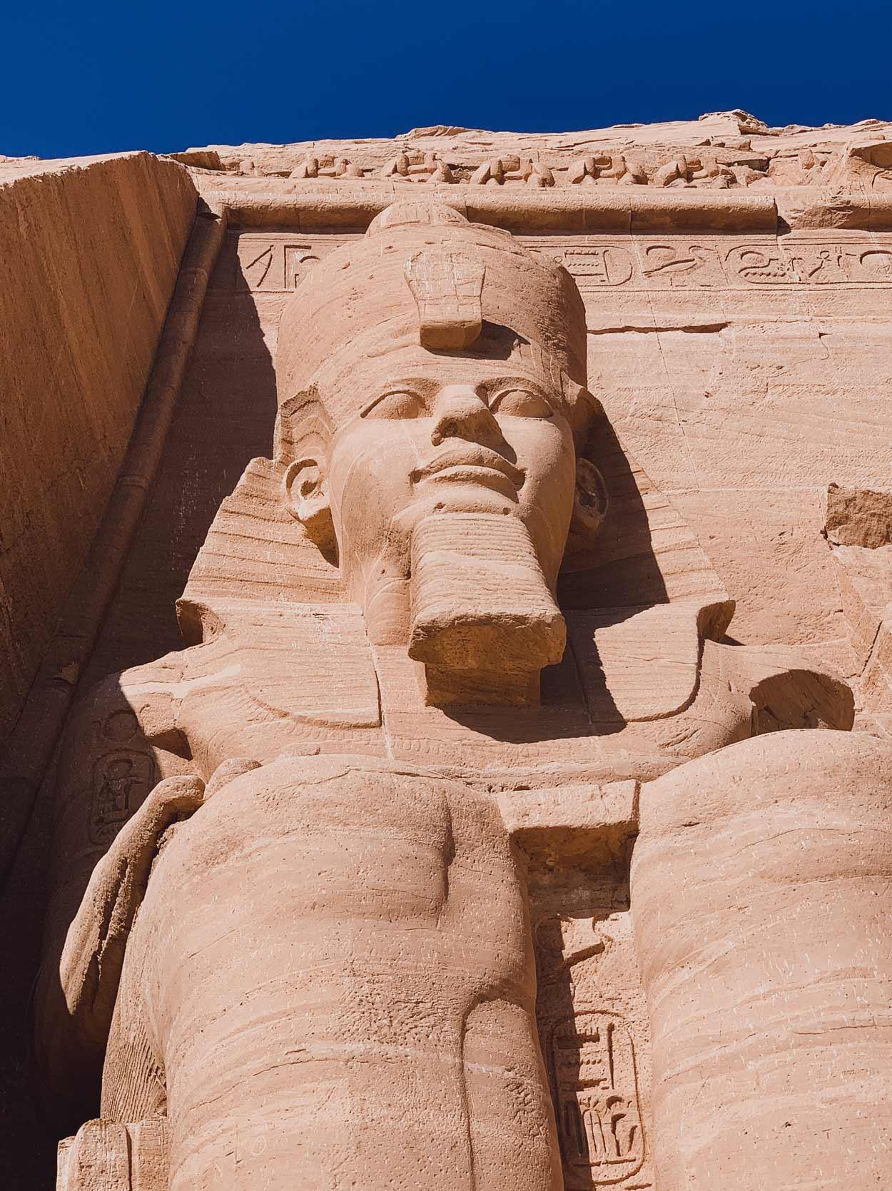 Los templos de Luxor Egipto