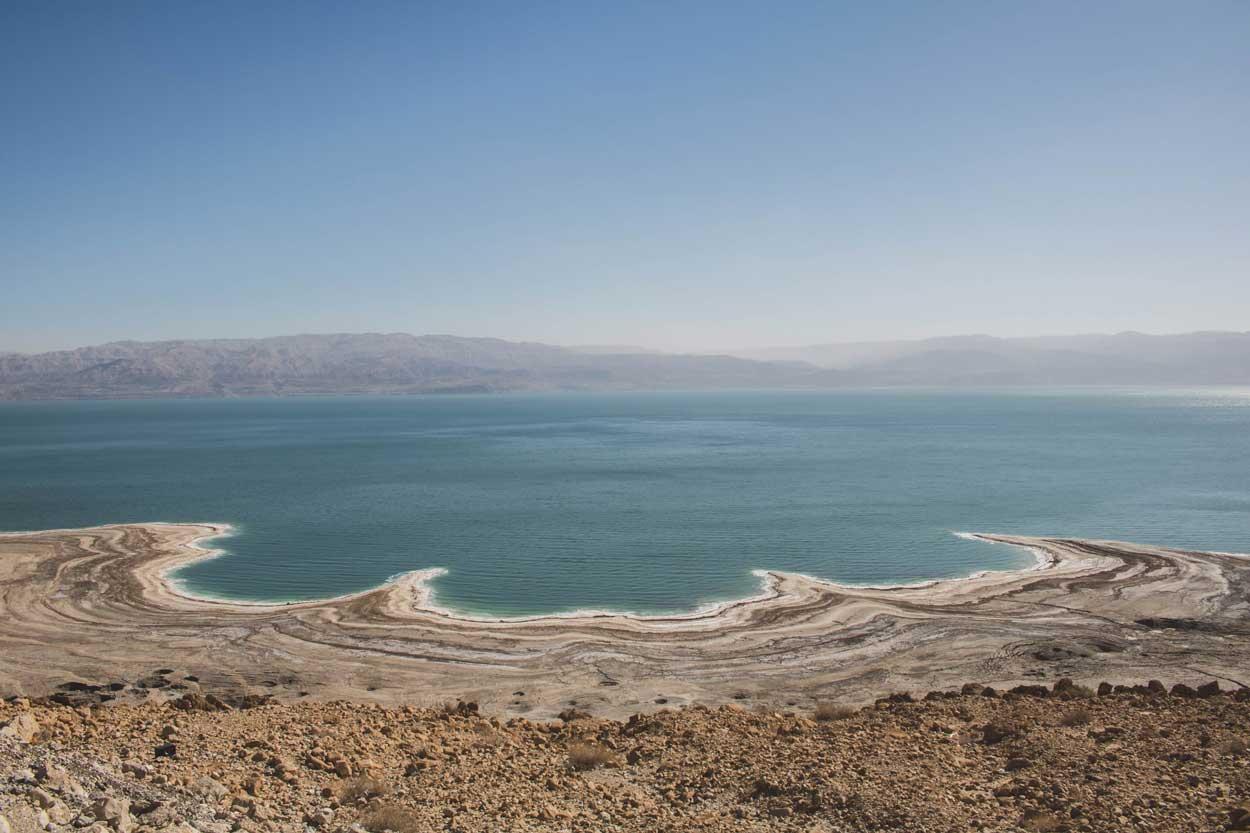 Mar Muerto desde Israel