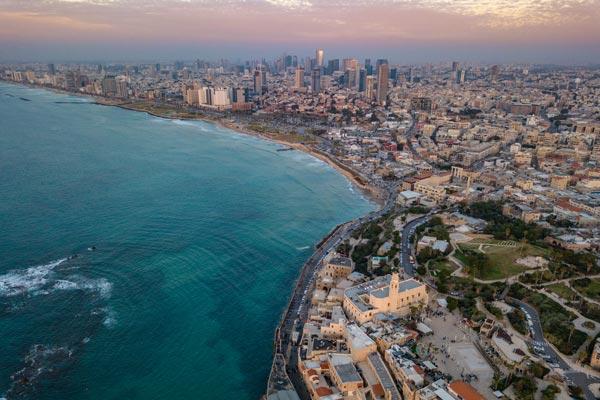 Tel Aviv desde el Aire Israel Asiviajo