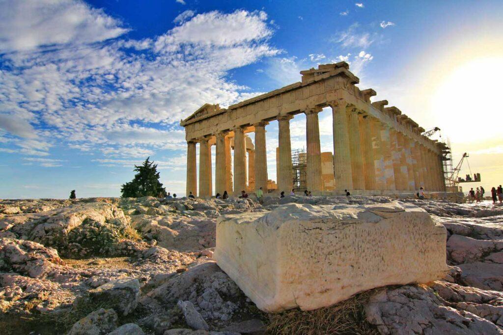 Templo del Partenon en Atenas Grecia