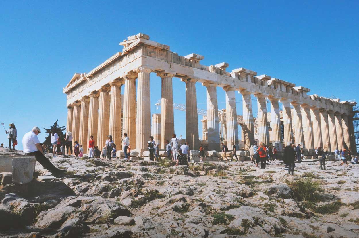 Un dia soleado en Atenas