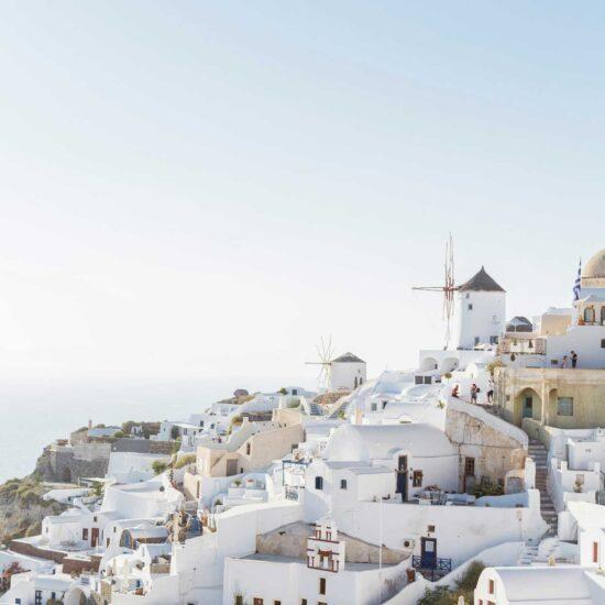 Vista Santorini Grecia
