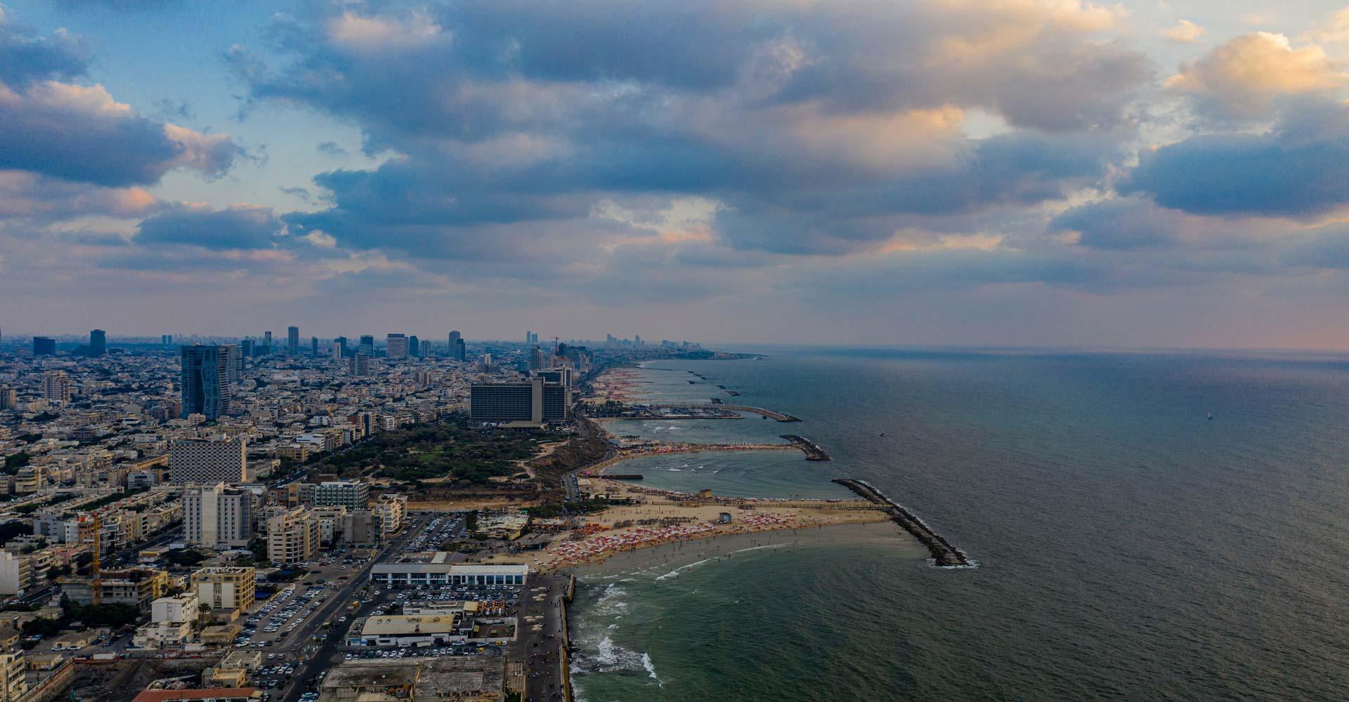 Vista de Tel Aviv Israel