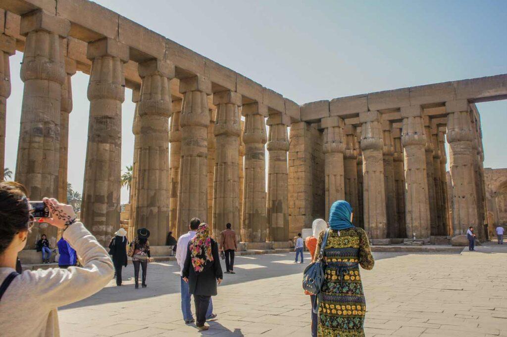 egipto cairo luxor people