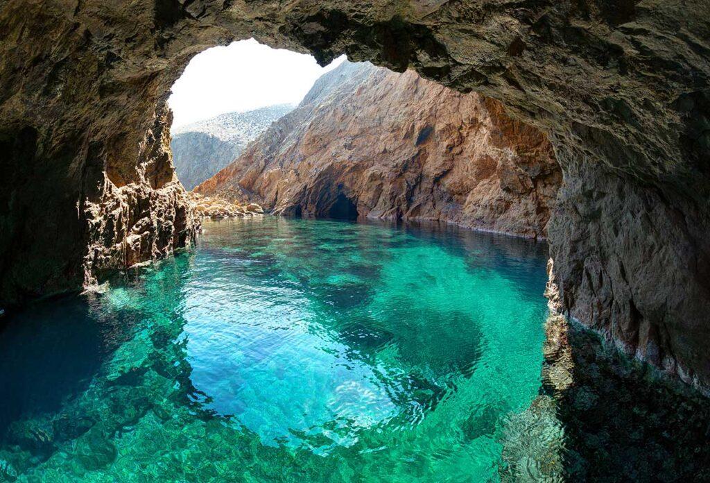 islote Tragonissi Mykonos Grecia