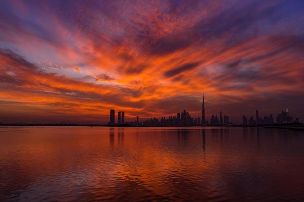 Atardecer en Dubai ASIVIAJO
