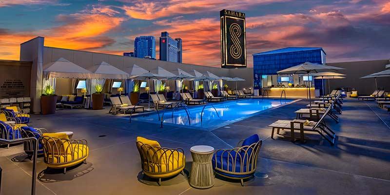Hotel sahara las vegas piscina