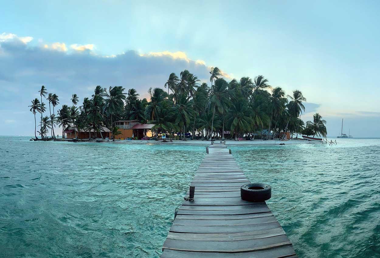 Isla San Blas en Panama
