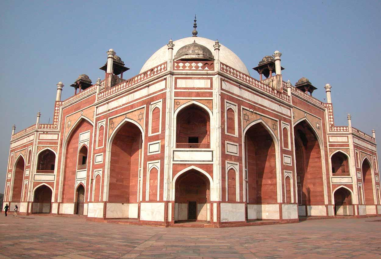 La tumba de Humayun en Nueva Delhi