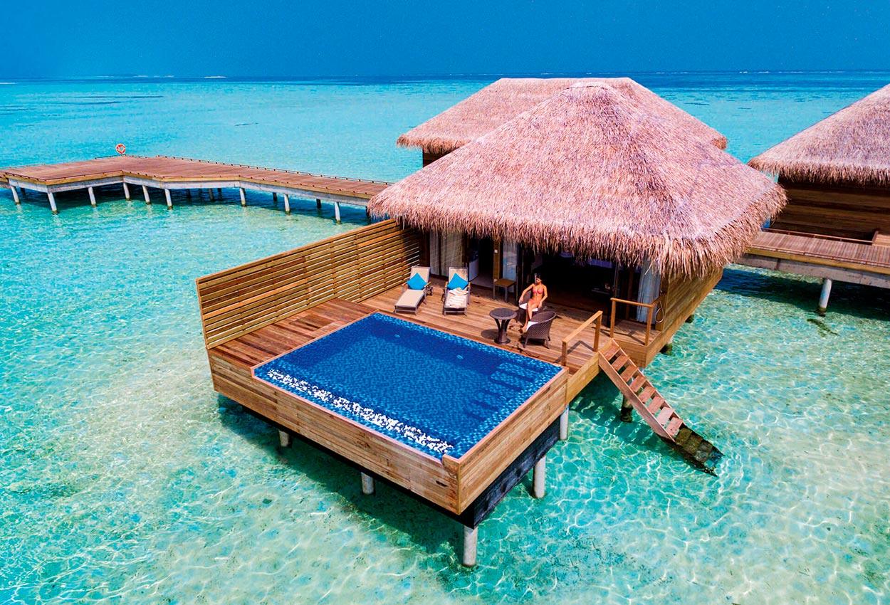 Lagoon Suite Pool Maldivas