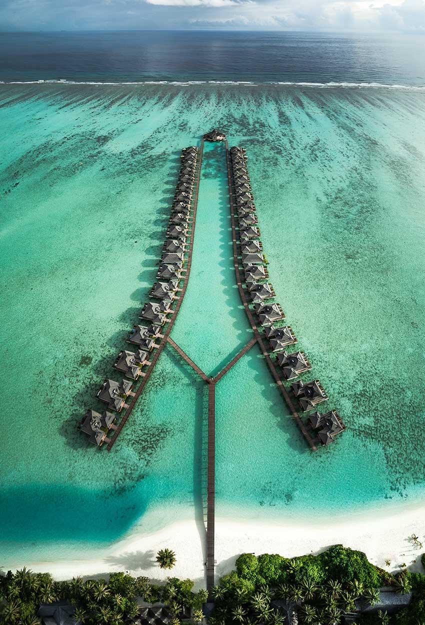 Vista Islas Maldivas