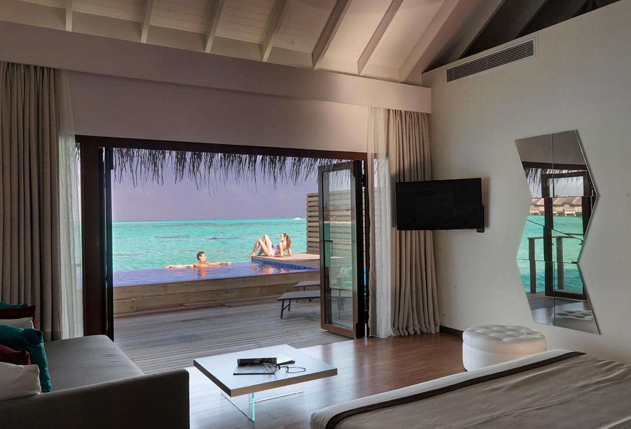 lagoon suite Maldivas