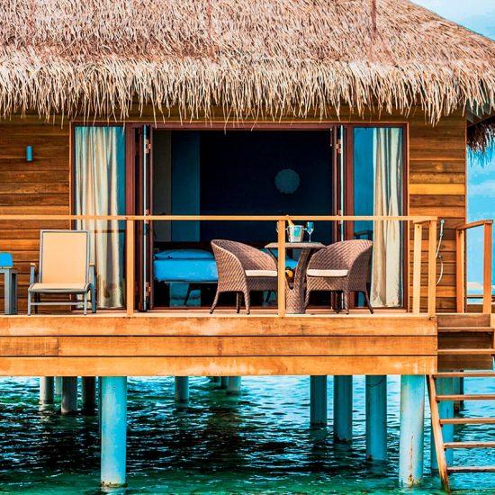 lagoon villa ext Maldivas